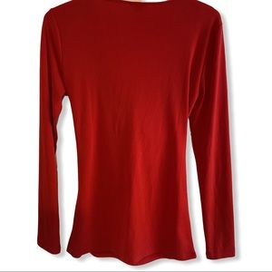 Ann Taylor Tops - Ann Taylor long sleeve red top NWT SZ S